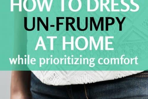 Comment robe confortable à la maison?