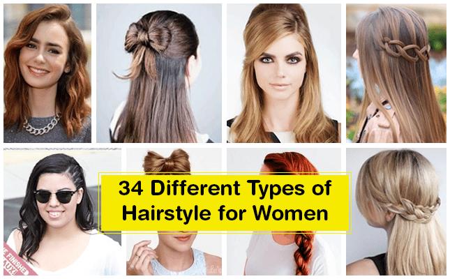 Les différents styles de cheveux